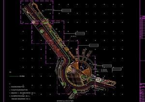 详细的广场景观绿化设计CAD方案