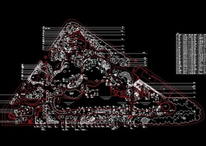 广场景观广场设计CAD方案