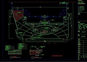 详细的广场景观绿化设计CAD施工图