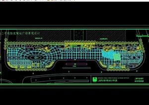 广场绿化规划设计CAD方案