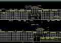 现代完整详细的学校教育建筑楼设计cad全套建筑图