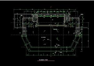 储物房建筑设计cad施工图