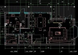某現代詳細的住宅室內cad全套裝修施工圖