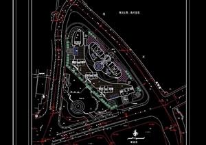 某商住项目景观规划设计cad总平
