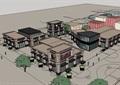 新古典風格詳細的商業中心詳細建筑設計su模型