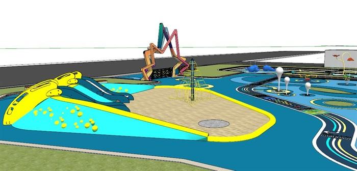 精品幼儿园儿童活动场地游乐园(5)