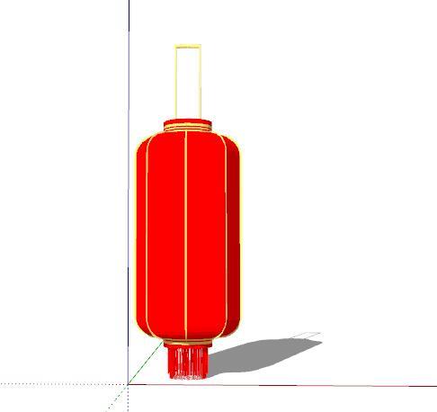 中式红灯笼装饰(1)