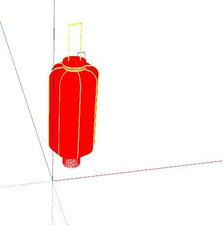 中式红灯笼装饰(3)