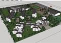 中式风格详细的小学建筑规划设计su模型