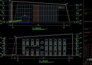 某现代售楼处建筑素材设计cad方案图