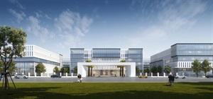 赣州保税区厂区及宿舍规划设计