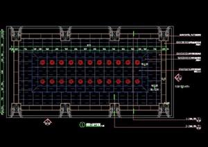 CAD东门跌级水景施工图