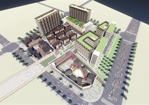 绿地小昆山综合项目 青年公寓 养老公寓 酒店