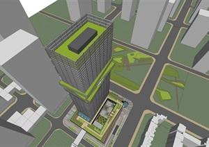 深圳湾超级总部06-01地块办公公寓项目