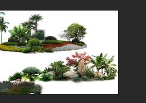 植物花卉园林景观后期制作素材2psd
