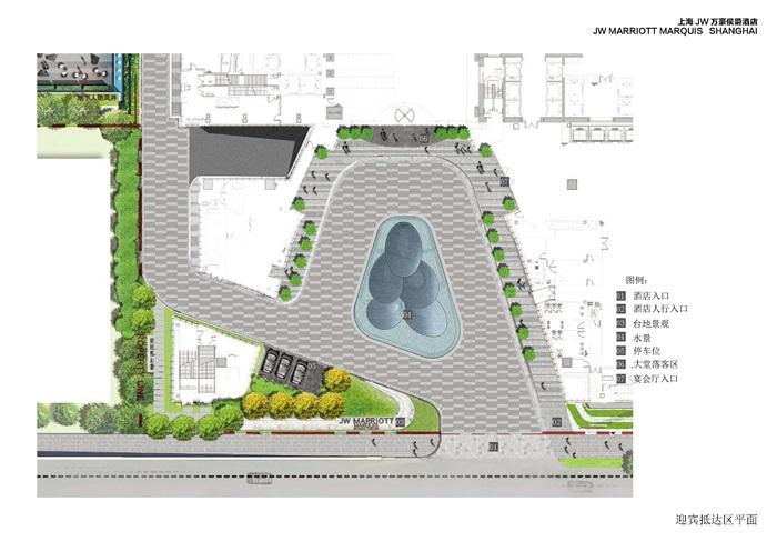 融合建筑设计语言-结合景观元素运用-某顶豪级酒店景观设计深化方案