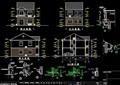 中式民居别墅详细设计cad施工图