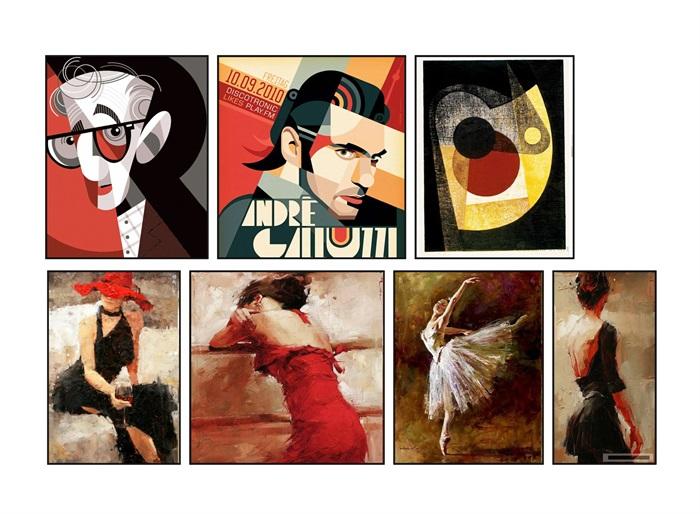 新中式 挂画 蕴意 装饰画、(2)