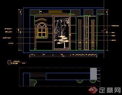 三层欧式别墅室内装修设计全套图纸