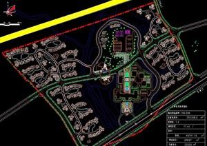 某行政中心规划设计cad平面图