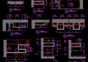 室内装修设计吊顶节点图