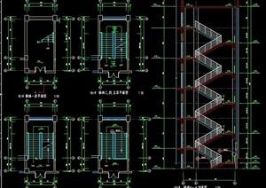 5层建筑楼梯设计图
