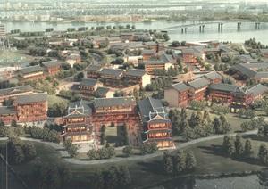 AECOM荆州市纪南新区总体规划及核心区城市设计2017