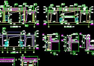 某大门详细建筑设计施工图