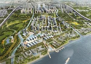 上海市浦东新区三林镇滨江南片区城市设计