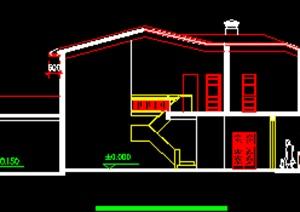私人别墅施工图2,二层别墅