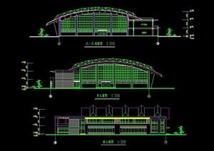某学校体育馆详细设计cad方案
