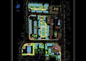 某镇建设规划cad方案图