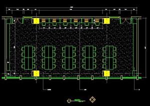 120平米阅览室装修设计方案