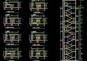 6层建筑楼梯设计图纸