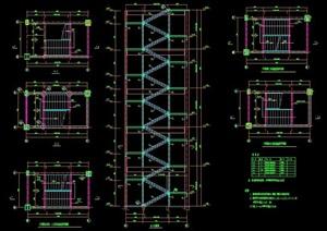 三跑楼梯设计图纸