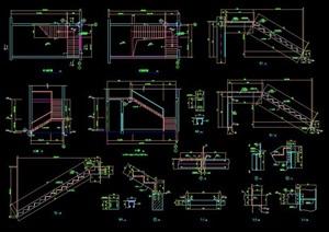 两折楼梯设计详图