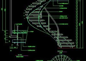 螺旋楼梯设计图纸