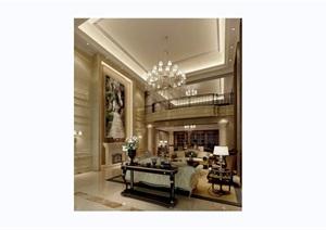 详细的完整欧式客厅装饰设计cad施工图