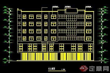 某6层住宅设计建筑图纸