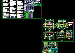 小区配套服务用房详细建筑施工图设计