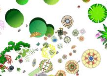 ps作图植物详细素材psd格式图(2)