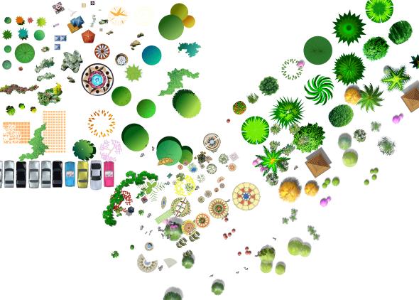 ps作图植物详细素材psd格式图(1)