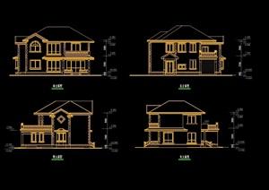 别墅cad方案设计图