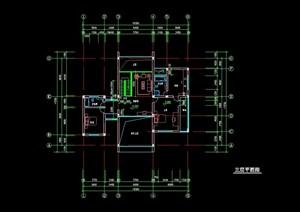 别墅初步设计cad方案