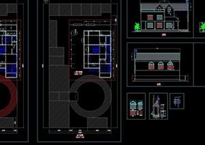 别墅建筑设计cad方案图