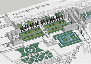 格内拉里弗花园,西班牙伊斯兰园林代表