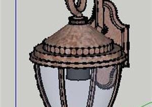 歐式風格墻燈壁燈SU(草圖大師)模型