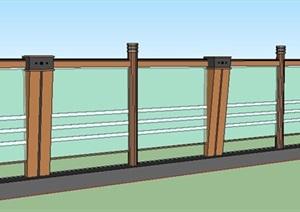 现代风格玻璃 栏杆