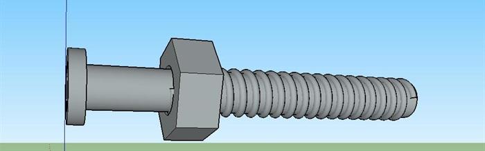 31--螺丝螺母模型(2)