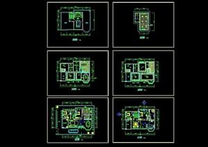 別墅裝修設計cad施工圖